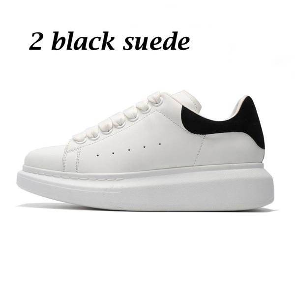 2 black suede