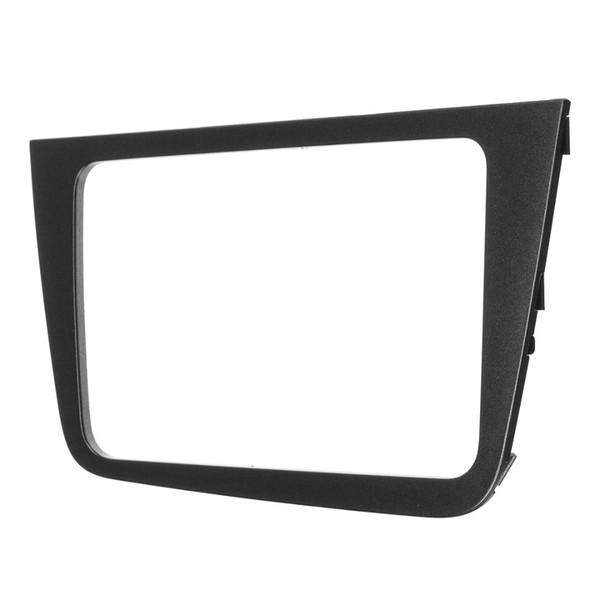 Schwarze Blende für Seat Altea Lhd Radio Stereo Armaturenbrett-Montagekit Verkleidung Audiopaneel Frontblendenabdeckung Adapter
