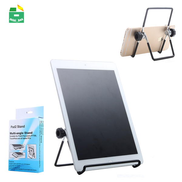 Supporto per telefono pigro Supporto per tablet pieghevole in metallo 160 gradi regolabile per iPad Air Pro Tablet PC Samsung Galaxy Tab