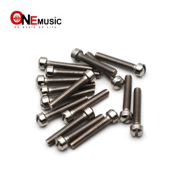 100 pcs/lots Electric Guitar Humbucker Pickup Polepiece Pole Screws Guitar Pickup Magnet Screw Rods 18mm Length 3mm Diameter
