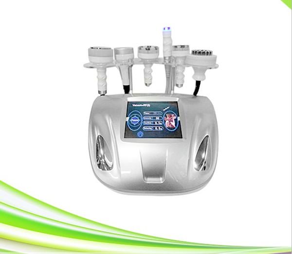 профессионал 6 в 1 вакууме рф подтяжки кожи для похудения кавитация вакуум рф липосакция машина