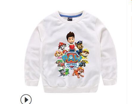 Nova Primavera e Outono 2019 All-cotton Blusa Inferior para Crianças