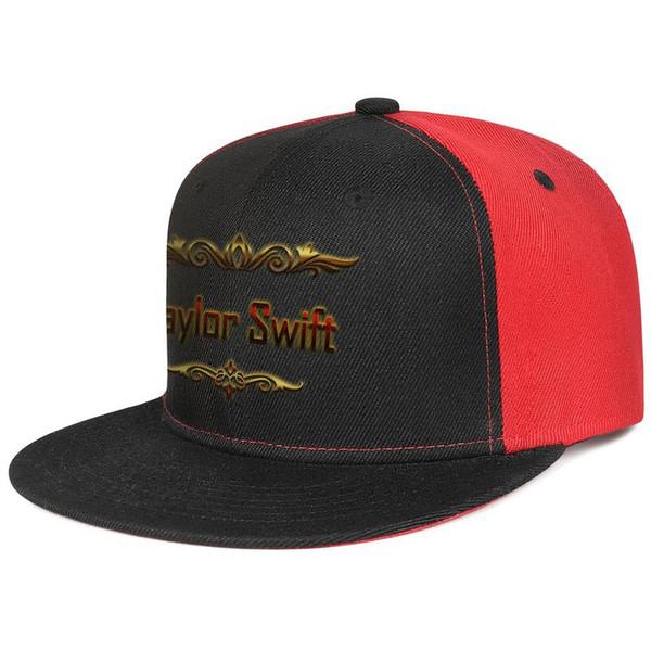 Red Taylor Swift mens et femmes chapeaux à bord plat noir snapback designer chapeaux personnalisés sports rendent votre propre coutume votre propre blanc mignon unique