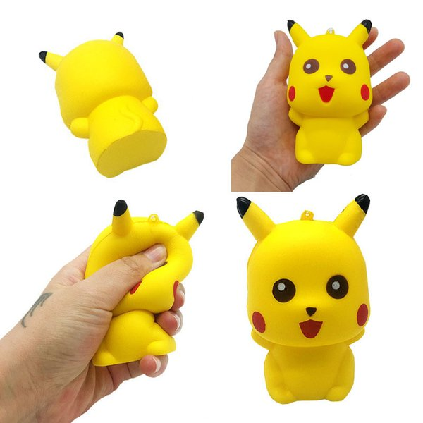 best selling Squishy Toys 11CM Pika Squishies Scented Kawaii Squishy Squeeze Slow Rising Relief toy Decompression kids toys