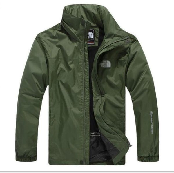 New outdoor jacket ande the men north waterproof ingle layer overall coat windbreaker face jacket hipping