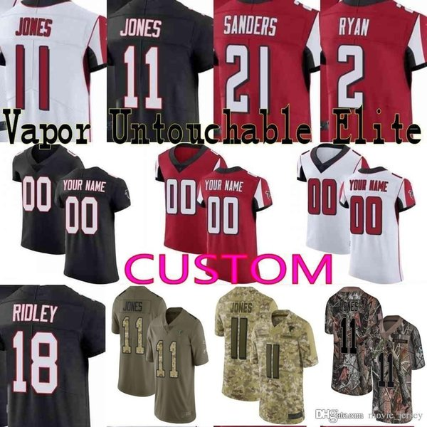 buy online 7b3fa 63ba4 2019 2019 Pro Bowl Custom Men Youth Women Atlanta Julio Jones Deion Sanders  Matt Ryan Ridley Devonta Freeman Falcons Camo Limiated Elite Jersey From ...