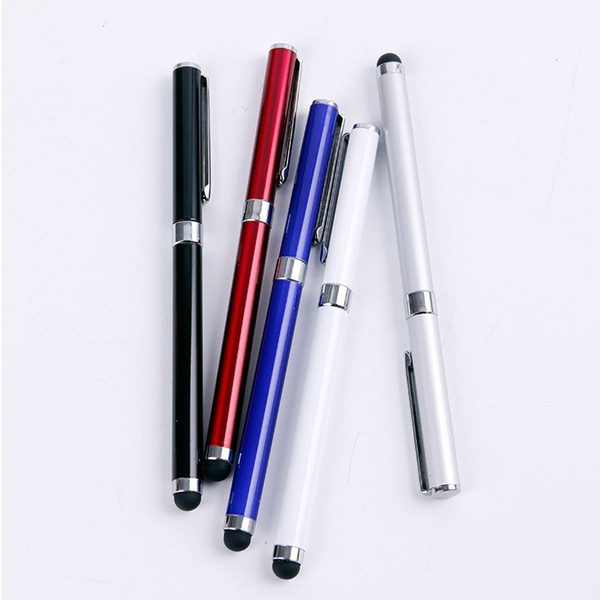 2 in 1 Capacitive Stylus Pen Mini Stylus Touch Screen Pen For Capacitance Screen Iphone 6 7 8 x for Ipad 2/3/4 SUMSANG s8 s9 s10