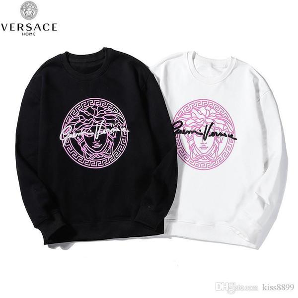 2019 New Men Women Warm Round Neck Casual Pullover Long-sleeved Sweatshirt Top 007 8Vers dfsfaceNO