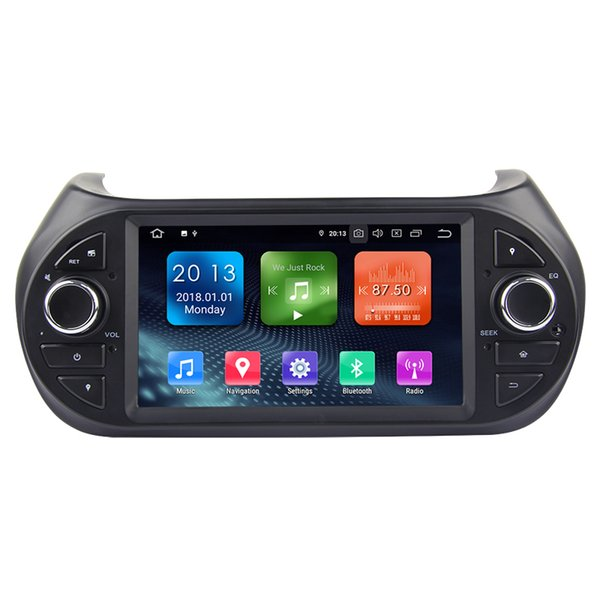 Zhuohan 6.2 Inch HD Android Car DVD Player for Fiat Fiorino 2008-2014 with Bluetooth GPS (AD-L7105)