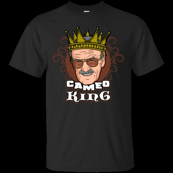 Cameo King Stan Lee Tişört Klasik Siyah