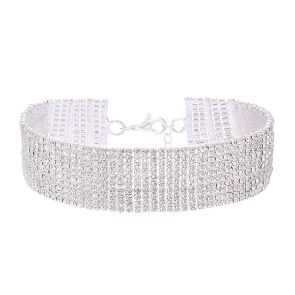 Silber-Short-Halsband