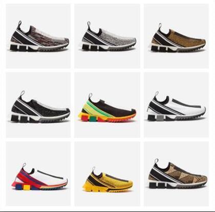 Tasarımcı Yeni nefes örgü erkek ayakkabı balsen severler moda rahat ayakkabılar adam flats trainer ayakkabı Ücretsiz gemi 44044