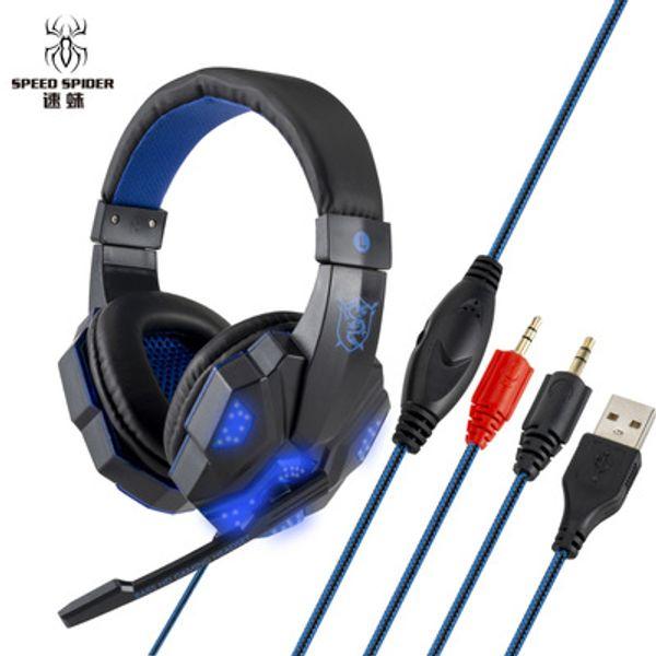 black blue PC luminous