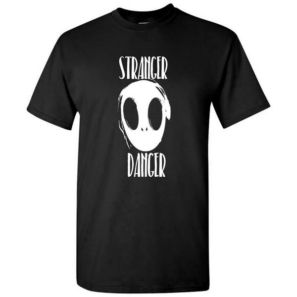 Perigo mais estranho - Alien Ufo Extraterrestre Outer Space Science Fiction Camiseta respirável Camiseta