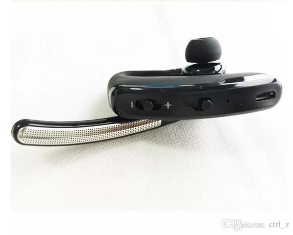Oreillette crochet Bluetooth pour casque sans fil Bluetooth 4.0 pour iphone samsung NOIR avec la vente au détail
