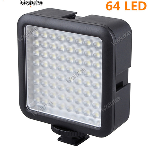 Godox 64 LED Video Light pour DSLR Caméscope mini DVR comme lumière d'appoint pour le mariage Nouvelles Interview Macrophotographie CD40 T03