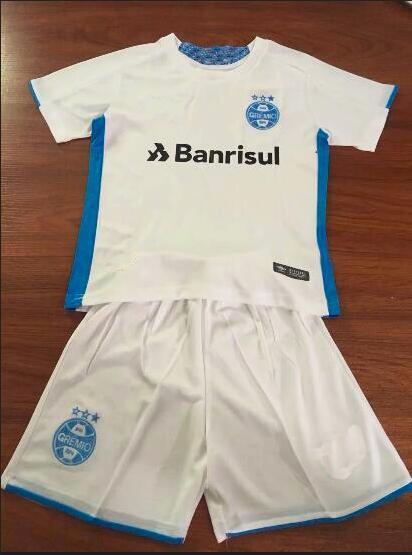 2019 2020 Gremio home away kit de crianças GEROMEL Melhores camisas de futebol Crianças Kits 19 20 Gremio goleiro amarelo KANNEMANN LUAN camisa de futebol branca