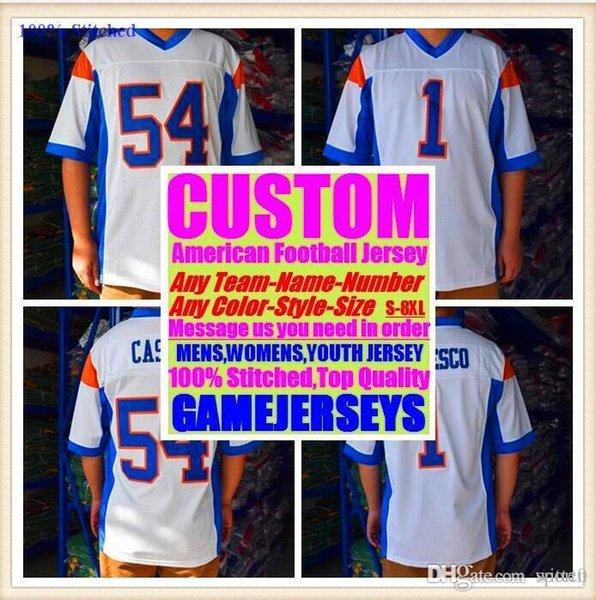 Maglie football americano All Stitched Custom Detroit Buffalo college autentica maglia da baseball da basket hockey 4xl 6xl 8xl stile