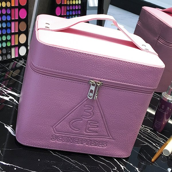 Pink 3ce (washed Leather)