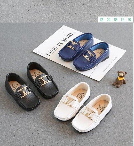 Kinderschuhe Frühling Designer Mode Chaussure Enfant echtes Leder-Kind-Mädchen-Schuhe, Sehr viele Kinder Jungen Schuhe