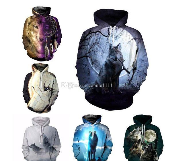 Hoodie 3d Kurt Sweatshirt Ceket Erkek ler Casual Yüksek Moda Sonbahar Dış Giyim Unisex Eşofman ile Pocket Dropship S-5XL Hoodie 9 Stiller
