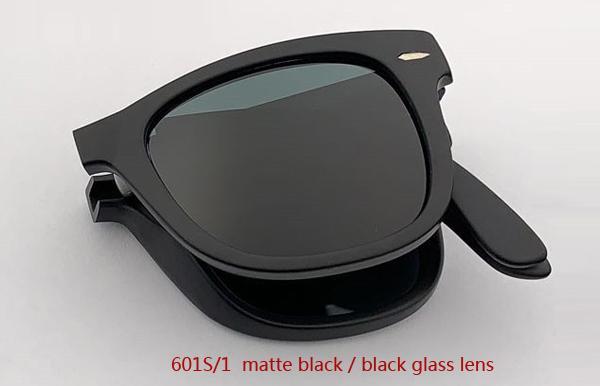 601S / 1 ماتي أسود / عدسة سوداء