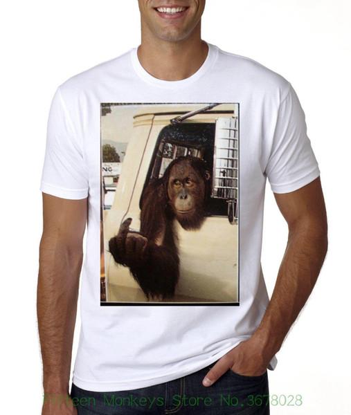 Круглый шеи лучшие продажи мужской натуральный хлопок рубашка Клайд любой путь, но свободные палец футболку