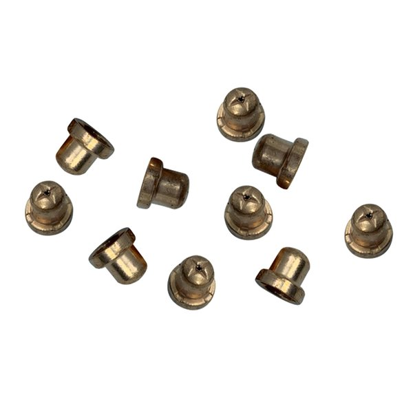 best selling 10x Plasma Cutting Torch Nozzles Consumable Accessories Kit 40A   PT-31