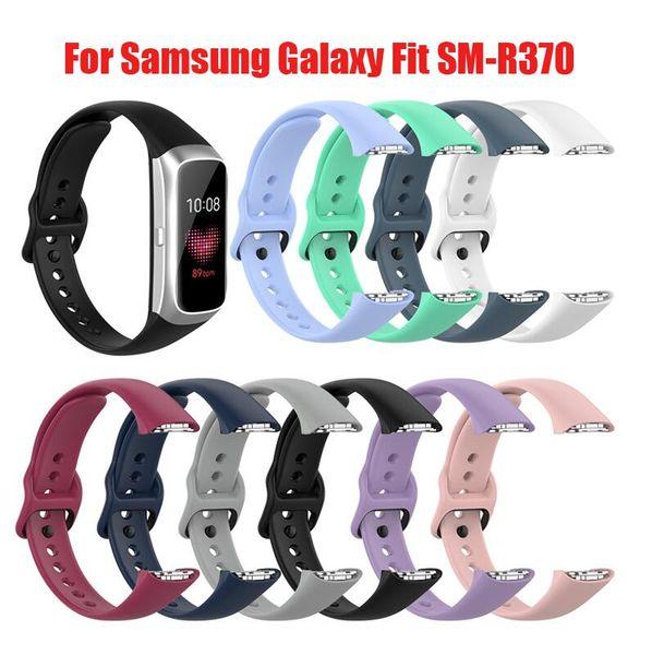 El nuevo silicón de la correa de reloj de la correa de muñeca de la venda para Samsung Galaxy Fit-e pulsera inteligente R370 reemplazo venda de reloj de la correa de accesorios