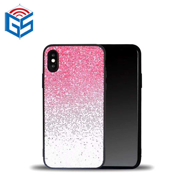 Custodia TPU per iPhone 5 XS XR XS Max Bling Bling