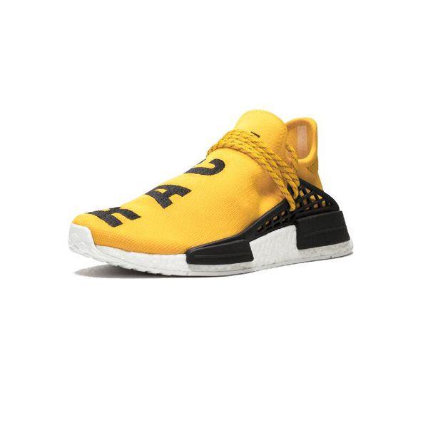2019 Course Humaine NMD Chaussures de Course Pharrell Williams Hu trail Oreo Nobel encre Noir Nerd Designer Baskets Hommes Femmes Chaussures de Sport