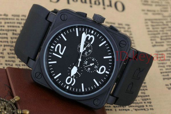 2019 Black Designer Top luxury Fashion Mechanical Mens Stainless Steel Automatic Movement Watch Business Sports mens Self-wind Wristwatches