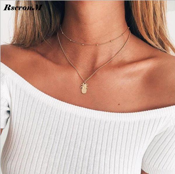 Mode Anhänger Halsketten mit Ananas Anhänger Super Beliebte Anhänger Halskette für Frauen Neue Ankunft zum Verkauf