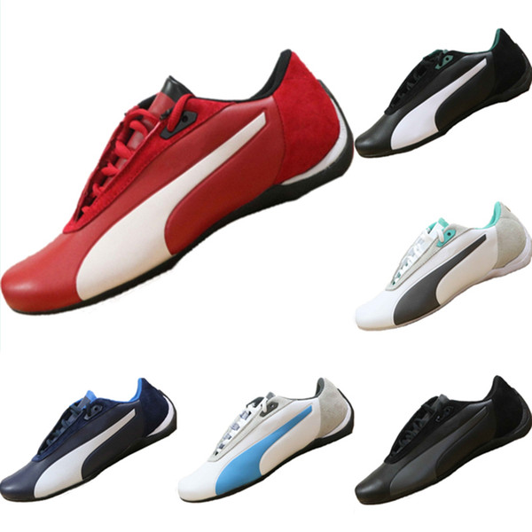 2019 Future Cat SF All Leather Splicing Motorsport Shoes AMG Petronas Formula One Team Mix RB Casual Kart Sneakers