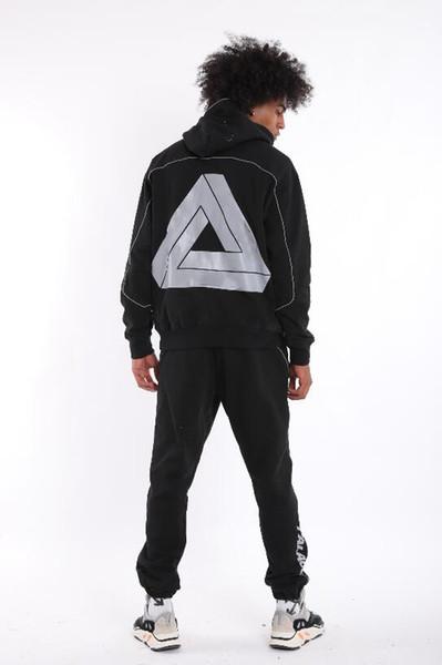 triangle Survêtement concepteur palais de mode classique impression marque costume de survêtement de haute qualité luxe boutique sweat à capuche pantalon de piste casual