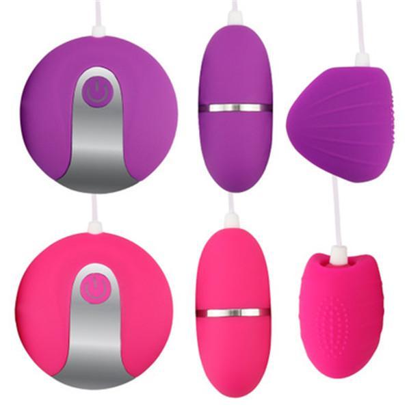 Suministros para adultos al por mayor control remoto doble huevo juguetes sexuales femeninos huevo juguetes sexuales femeninos