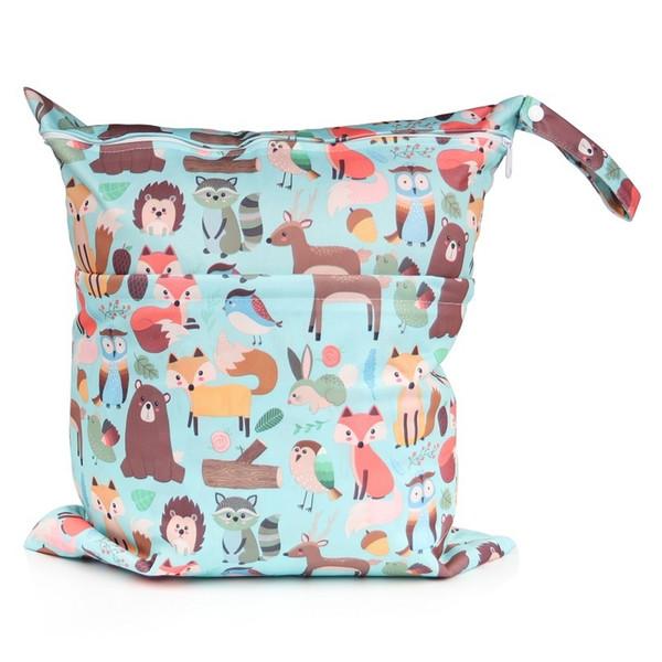 [chooec] большой размер:40x45cm 2019 Новый Xl мокрый мешок моющийся многоразовая ткань пеленки подгузники сумки водонепроницаемый плавать спорт путешествия сумка для переноски