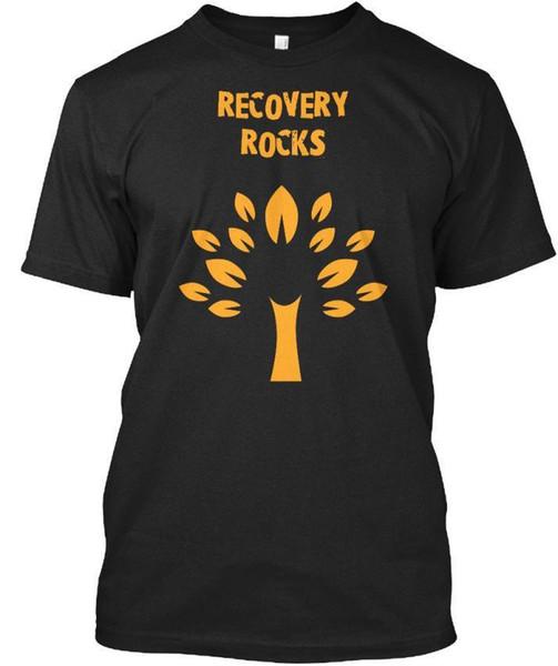 Границы восстановления Serendipity - стандартная мужская футболка Rocks