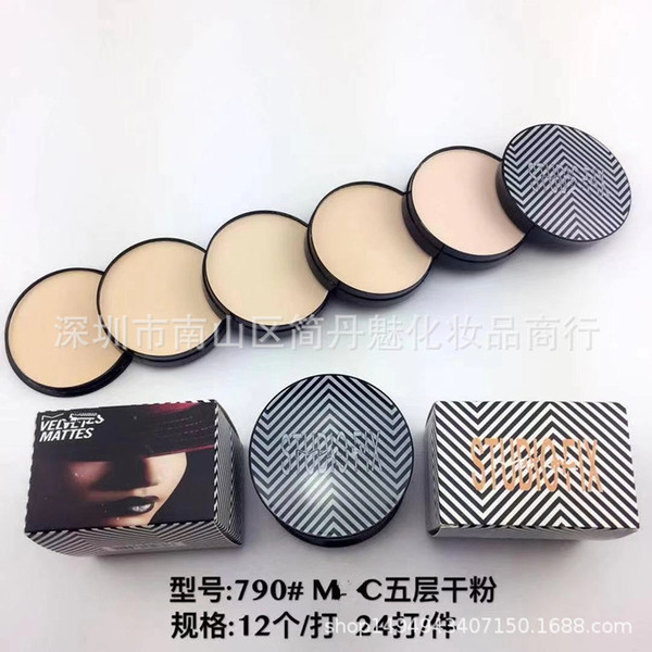 Brand M Face Press Power Macs Makeup Studio Fix Face Powder Plus MC Foundation 15g Volume High Quality NC