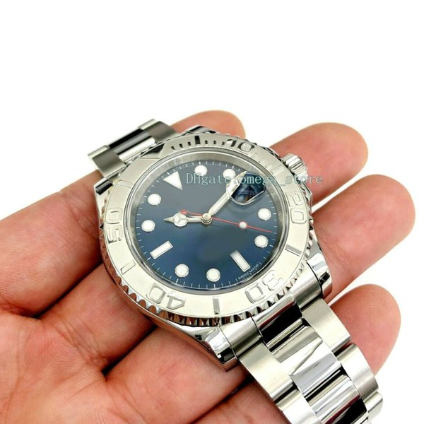 Upgraded version Luxury mens 40mm Watch Platinum and Stainless Steel 116622 40MM Scrambled Serial Mint Automatic Eta .2813 Movement