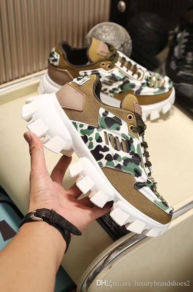 2019 Cloudbust Thundser Knit Sneakers Luxury Vati Schuh-Designer-Schuhe Damenmode Freizeitschuhe Top-Qualität Freizeit-Schuhe Outdoor-Sneaker