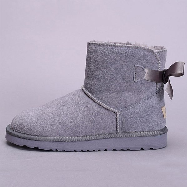 ankle one bow grey