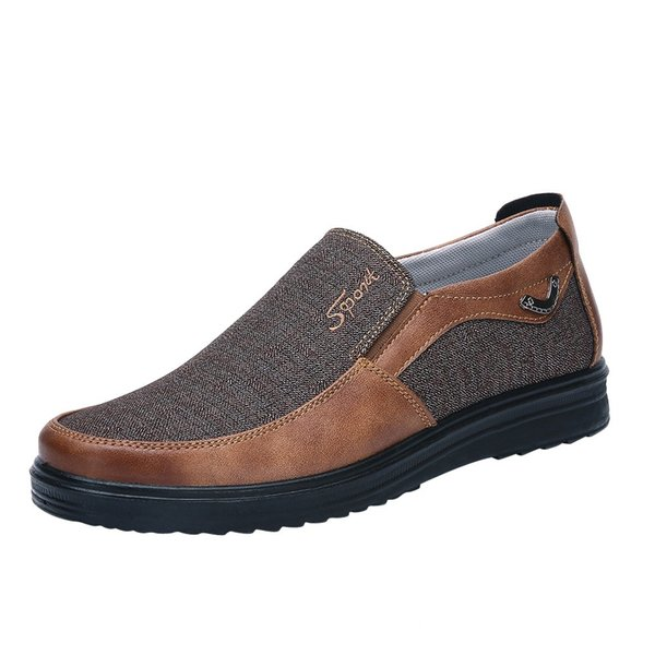 2019 Homme Chaussures Marche Ventilation Casual Homme sapato masculino Fond mou Confortable Slip Conduite Mocassin Mocassins Chaussures Plates