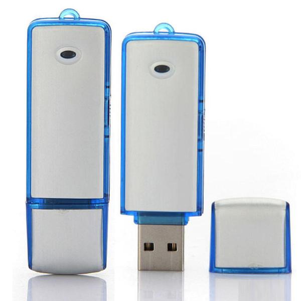 top popular 2 in 1 8G Mini USB Voice Recorder USB Flash Drive U Disk Memory Stick 2020