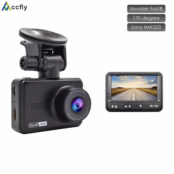 Accfly автомобиль автомобильного видеорегистратора тир камера камера DVR видеорегистраторы автомобиль регистратор Видеорегистратор Новатэк 96658 Sony IMX323 Full HD 1080p 170 градусов
