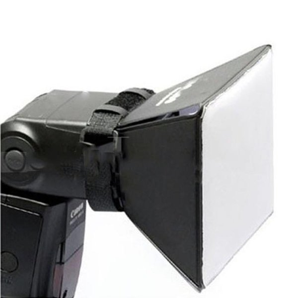 Portable Fotografie Softbox-Kit Softbox-Kit Blitzdiffusor für Canon Nikon Sony Pentax Olympus Sigma Minolta DSLR Speedlite Flash