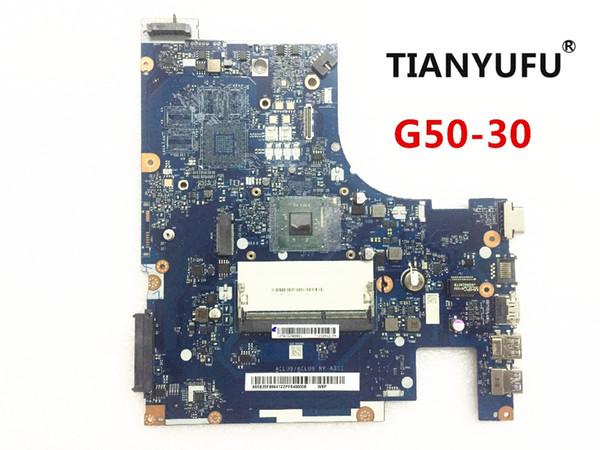 Kostenloser Versand ACLU9 / ACLU0 NM-A311 Laptop Motherboard für Lenovo G50-30 Notebook (für INTEL CPU) Motherboard hat 100% Arbeit getestet