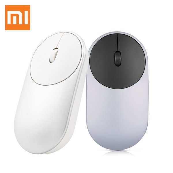 Original Xiaomi Portable Mouse With Bluetooth 4.0 / 2.4G Dual Mode Wireless Mouse with Built-in Battery for Laptop Tablet PC