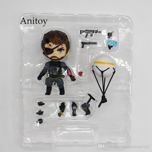Metal Gear Solid V The Phantom Pain Snake 565 # Venom Snake Sneaking костюм Ver. ПВХ фигурка Коллекционная модель игрушка 10cmKT3442