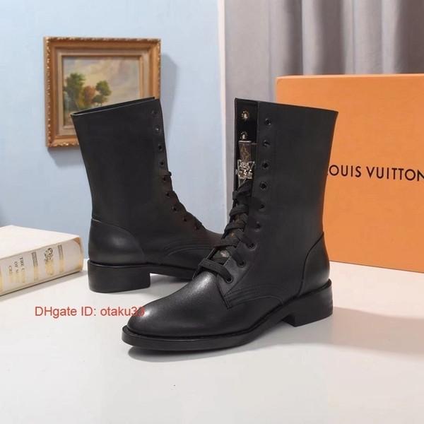 Ankle Frauen Lederstiefel Spitzschuh Schuhe Flock Booties Neuer Spool-Damen niedrige Fersen der koreanischen Schuh Straße Stil Stil 09174
